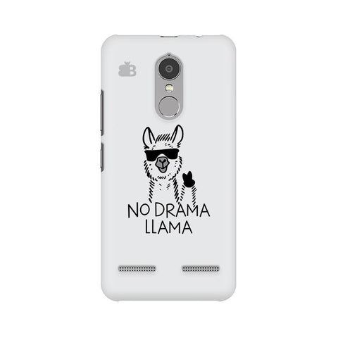No Drama LLama Lenovo K6 Power Phone Cover