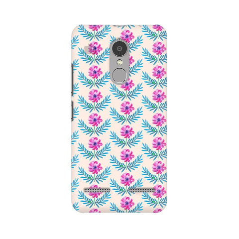 Pink Watercolor Pattern Lenovo K6 Power Phone Cover