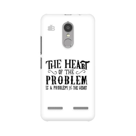 Problem of the Heart Lenovo K6 Power Phone Cover