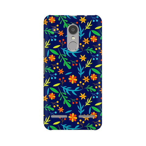Vibrant Floral Pattern Lenovo K6 Power Phone Cover