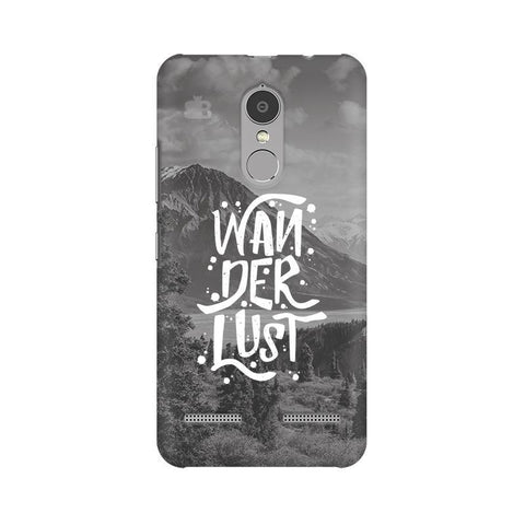 Wanderlust Lenovo K6 Power Phone Cover