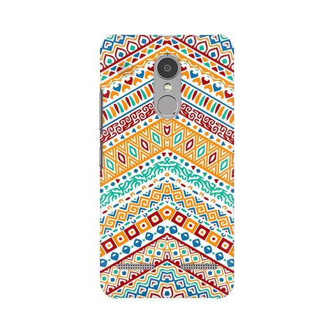 Wavy Ethnic Art Lenovo K6 Power Phone Cover