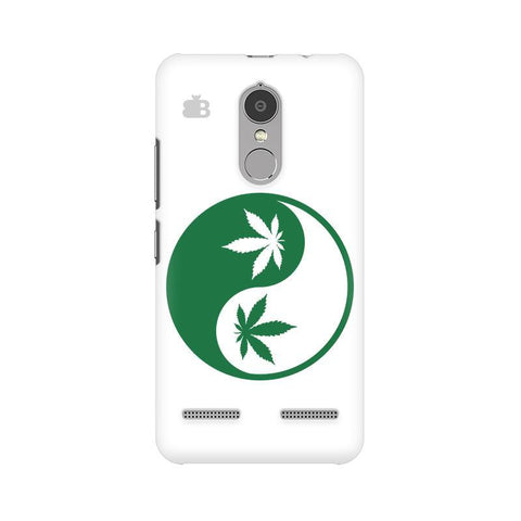 Weed Yin Yang Lenovo K6 Power Phone Cover