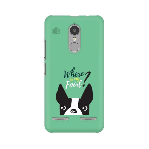 Where is my Food Lenovo K6 Power Phone Cover