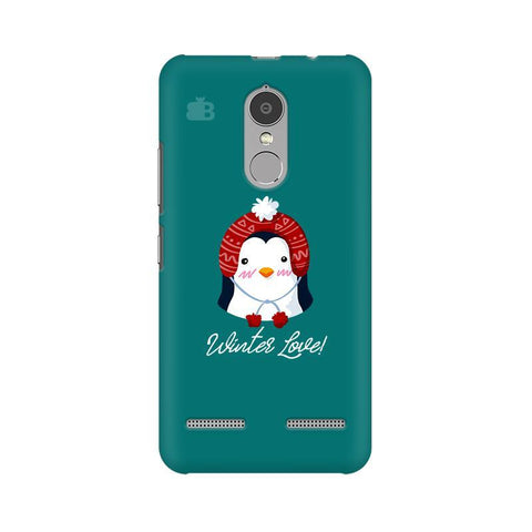 Winter Love Lenovo K6 Power Phone Cover