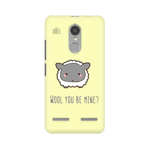 Wool Lenovo K6 Power Phone Cover