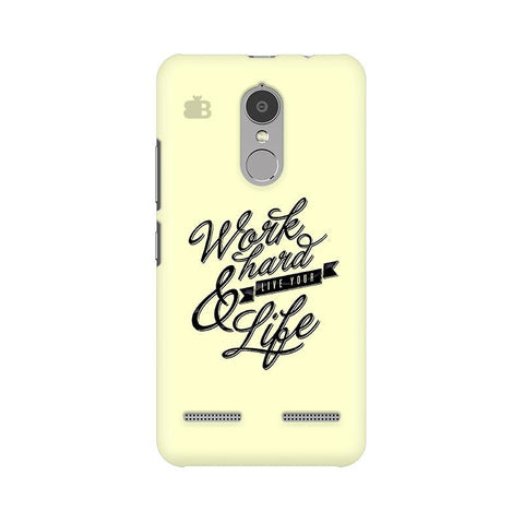 Work Hard Lenovo K6 Power Phone Cover