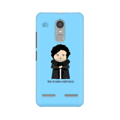 You Know Nothing Lenovo K6 Power Phone Cover