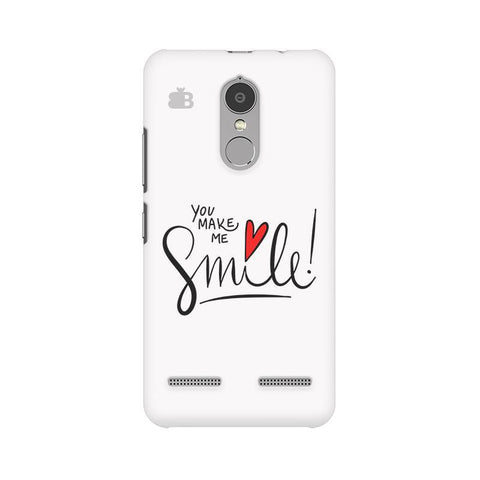You make me Smile Lenovo K6 Power Phone Cover