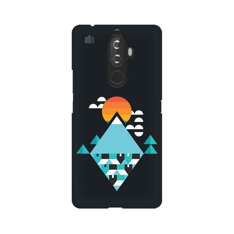 Abstract Mountains Lenovo K8 Note Phone Cover
