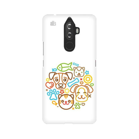 Cute Pets Lenovo K8 Note Phone Cover
