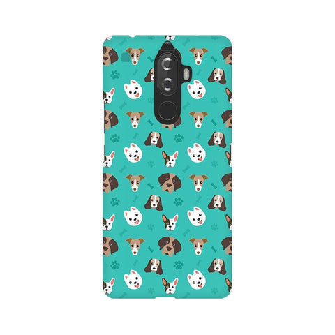 Doggie Pattern Lenovo K8 Note Phone Cover