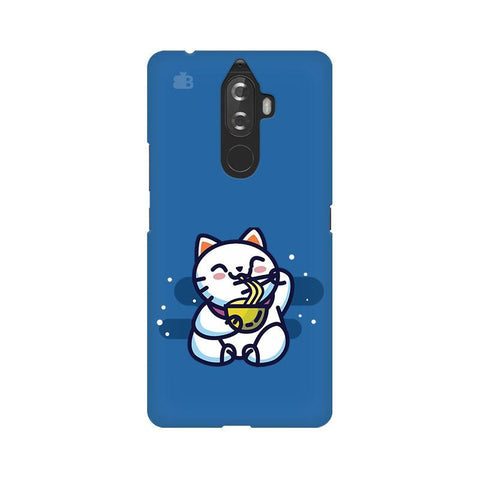KItty eating Noodles Lenovo K8 Note Phone Cover