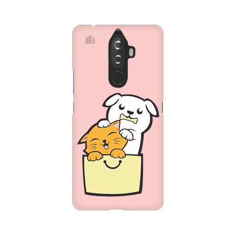 Kitty Puppy Buddies Lenovo K8 Note Phone Cover