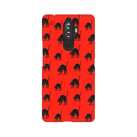 Scary Cats Lenovo K8 Note Phone Cover