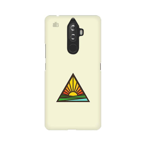 Triangular Sun Lenovo K8 Note Phone Cover