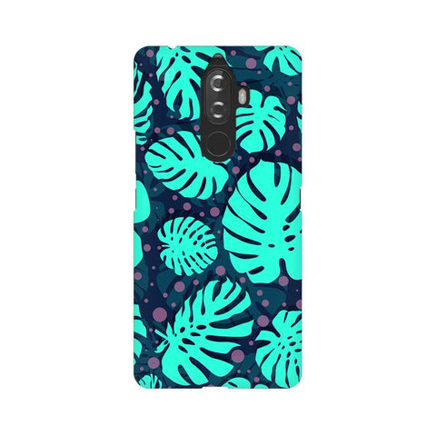 Tropical Leaves Pattern Lenovo K8 Note Phone Cover