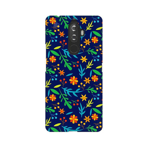 Vibrant Floral Pattern Lenovo K8 Note Phone Cover