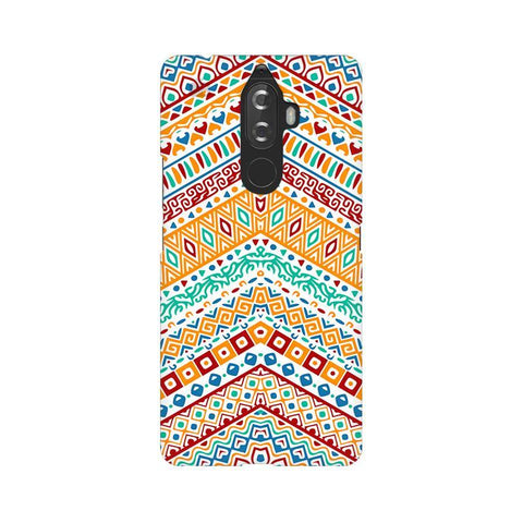 Wavy Ethnic Art Lenovo K8 Note Phone Cover