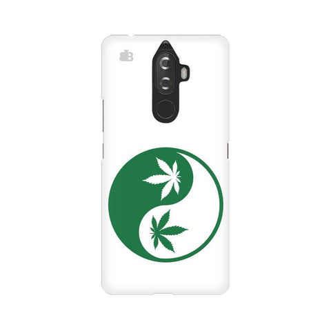 Weed Yin Yang Lenovo K8 Note Phone Cover