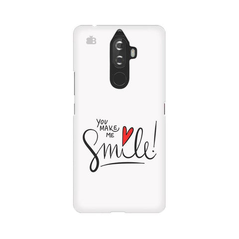 You make me Smile Lenovo K8 Note Phone Cover