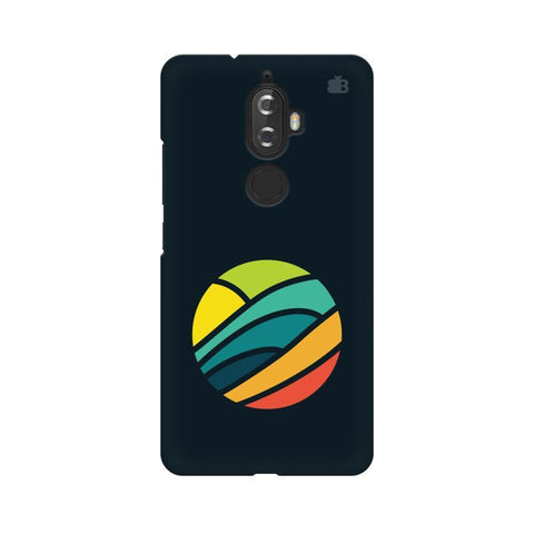 Abstract Circle Lenovo K8 Plus Phone Cover