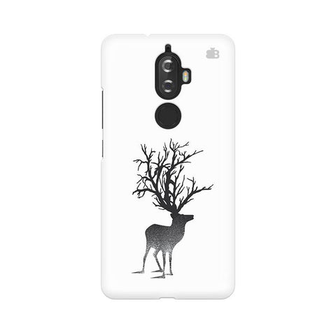 Abstract Deer Lenovo K8 Plus Phone Cover