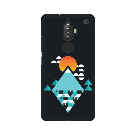Abstract Mountains Lenovo K8 Plus Phone Cover