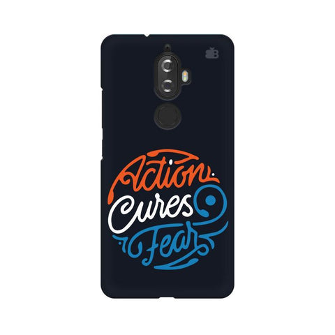 Action Cures Fear Lenovo K8 Plus Phone Cover