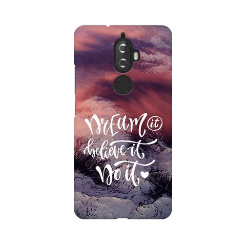 Dream It Do It Lenovo K8 Plus Phone Cover