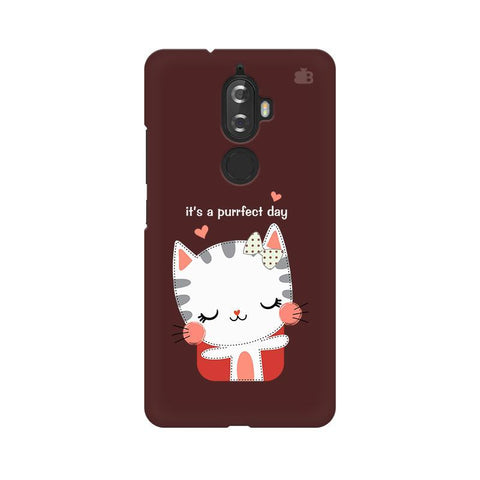Purrfect Day Lenovo K8 Plus Phone Cover