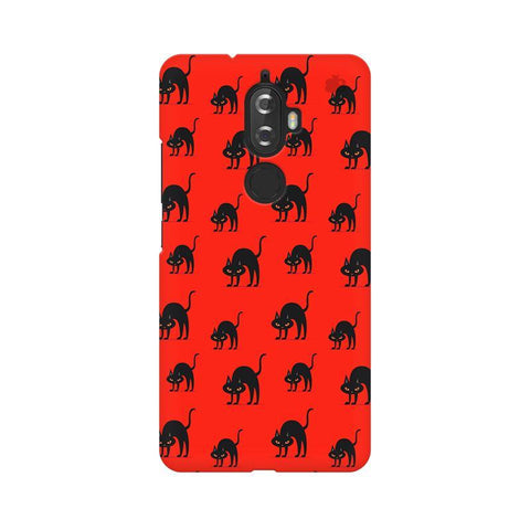Scary Cats Lenovo K8 Plus Phone Cover