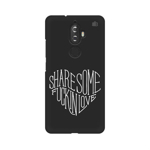 Share Some F'ing Love Lenovo K8 Plus Phone Cover