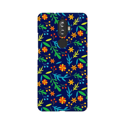 Vibrant Floral Pattern Lenovo K8 Plus Phone Cover