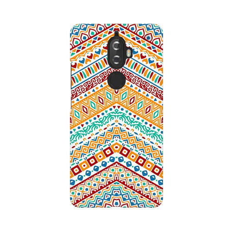 Wavy Ethnic Art Lenovo K8 Plus Phone Cover