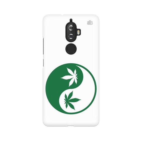 Weed Yin Yang Lenovo K8 Plus Phone Cover