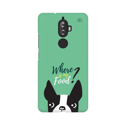 Where is my Food Lenovo K8 Plus Phone Cover