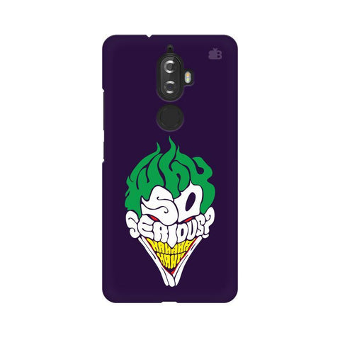 Why So Serious Lenovo K8 Plus Phone Cover