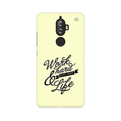 Work Hard Lenovo K8 Plus Phone Cover
