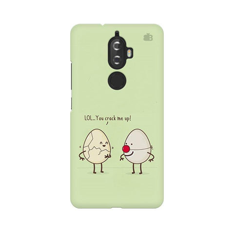 You Crack me up Lenovo K8 Plus Phone Cover