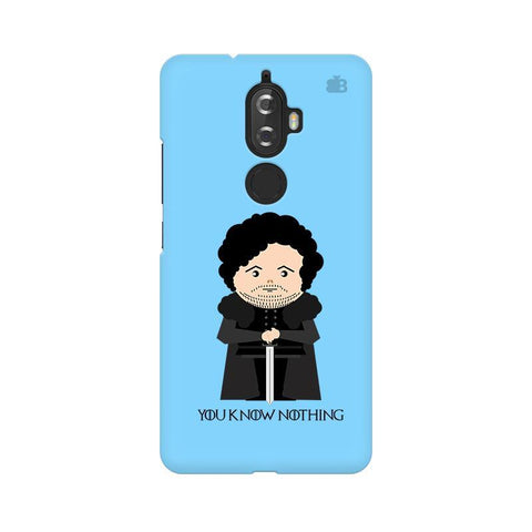 You Know Nothing Lenovo K8 Plus Phone Cover