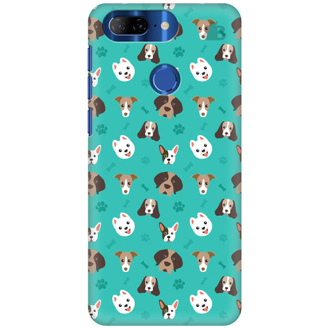 Doggie Pattern Lenovo K9 Cover