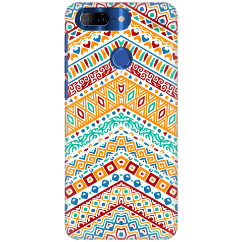 Wavy Ethnic Art Lenovo K9 Cover
