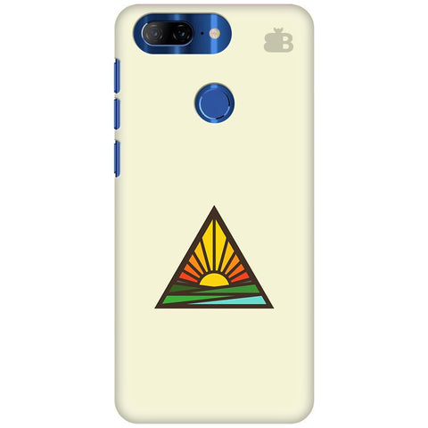 Triangular Sun Lenovo K9 Note Cover