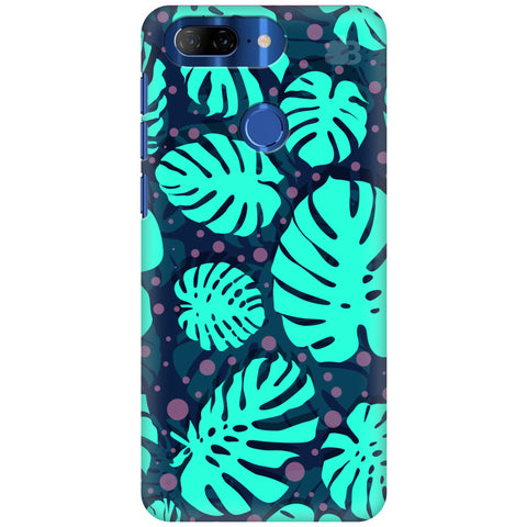 Tropical Leaves Pattern Lenovo K9 Note Cover