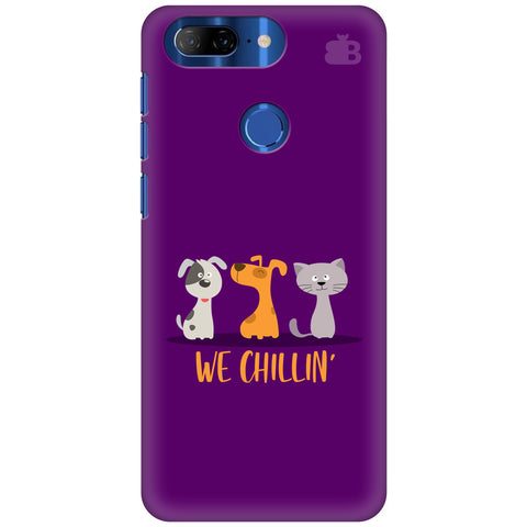 We Chillin Lenovo K9 Note Cover