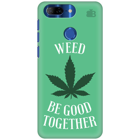 Weed be good Together Lenovo K9 Note Cover
