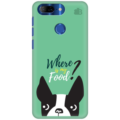 Where is my Food Lenovo K9 Note Cover