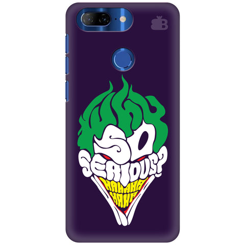 Why So Serious Lenovo K9 Note Cover