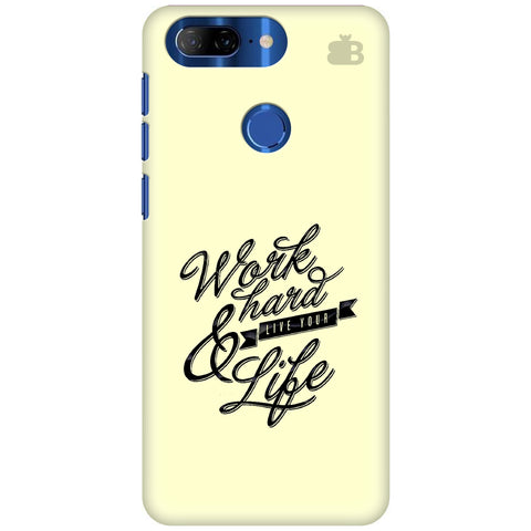 Work Hard Lenovo K9 Note Cover